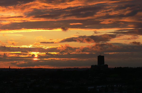 Holy T Sunset